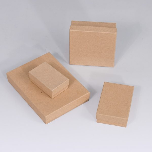 Jewelry Gift Box Kraft 3x3