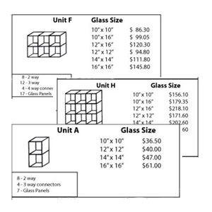TEMPERED GLASS UNITS I